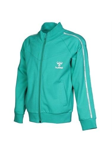 Hummel Hummel 9308086315 Felipes Fermuarlı Cepli Erkek Çocuk Sweatshirt Yeşil